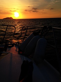 11Mar15 Sunset at Gaya Island: One of the best sunsets in my list