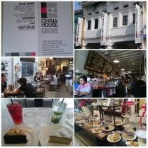 Recommended by colleague and also featured in My Penang on Asian Food Channel. Serves about 30+ cakes daily. Shared the Lemon Poppy Seed and Buttermilk Earl Grey cake and each had Crushed Mint & Lime Soda and Pink Lemonade. Total about RM44.50 Place was interesting, but cakes was just so-so. Suitable for those café hoppers