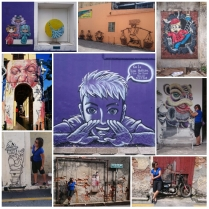 The listed and non-listed street arts