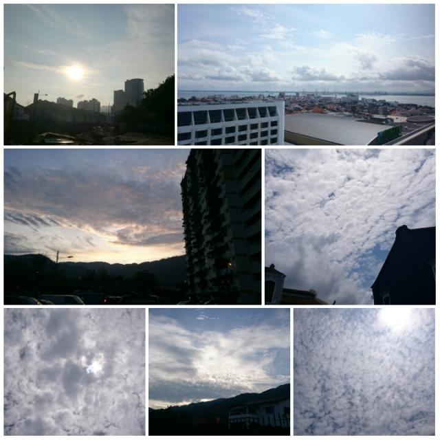 Skies & clouds of Penang