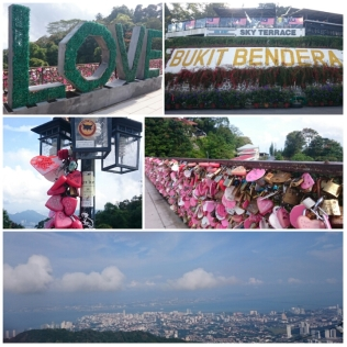Yup, they have love locks there as well. The serene view was breathtaking