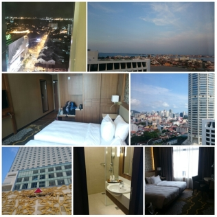The facade, the room and the views from the room