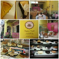 Saw this bakery when we were searching for the Kungfu Girl and The Indian Boatman. Decided to check it out when we walked back. Drooling at the cakes (already had 2 cakes earlier at China House), decided to pack the Chempedak Cheesecake (left) and Coffee Meringue to be eaten at the hotel after dinner. Total RM18. Felt that the cakes were much better than the ones we had at China House