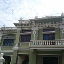 One of the colonial structure at Lebuh Acheh