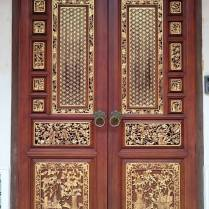 Loves the intricacies of the door
