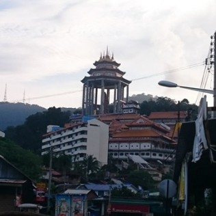 The biggest temple in Penang (I think)