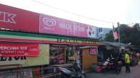 Convenience store at the kampong