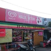 Convenience store at the kampong