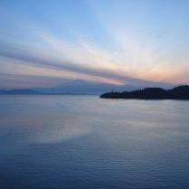 Day 1 of Sunrise at Gaya Island