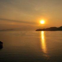 Day 2 of Sunrise at Gaya Island