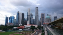 View from Padang deck