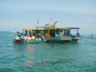 Gaya Island: Water taxi
