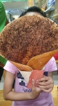 Nagoya Hill - The crepe is bigger than my niece's head!