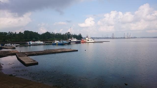 Harris Waterfront - Low Tide