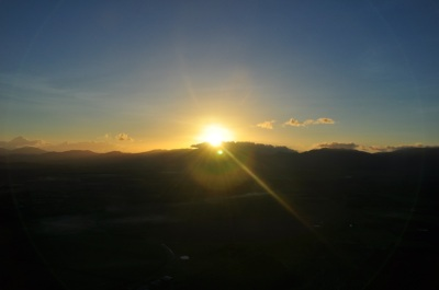 11Mar13: Sunrise over Atherton Tablelands