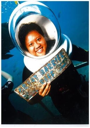 9Mar13: Seawalking at Great Barrier Reef