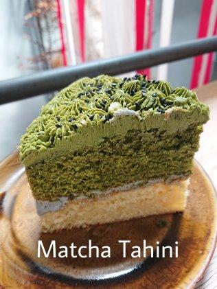 Flowers in the Window - Matcha Tahini