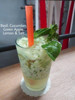 Flowers in the Window - Basil, Cucumber, Green Apple, Lemo & Salt
